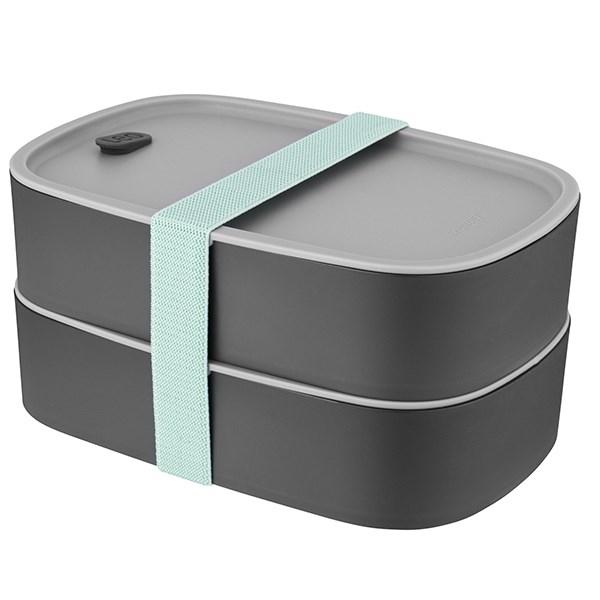 Kongqiabona-UK Fiambrera para ni/ños Caja de Almacenamiento de calefacci/ón por microondas contenedor de Comida de pl/ástico para Mayor Seguridad Compartimento con Forma de b/úho